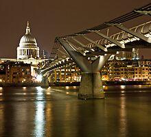Bridge to St Pauls by Karen Millard