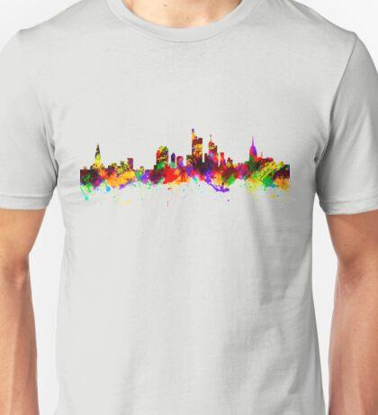 Frankfurt skyline Unisex T-Shirt