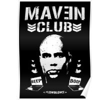 MAVEN CLUB - #LOWBLOWS Poster