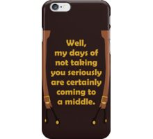 Seriously Mal iPhone Case/Skin