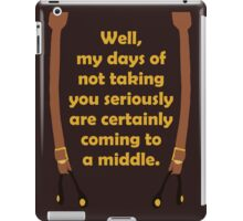 Seriously Mal iPad Case/Skin
