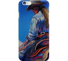 """Cowgirl Blues"" iPhone Case/Skin"