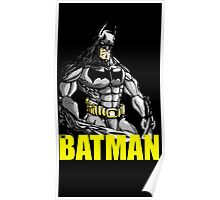 The Batman (With Text) Poster