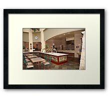 Buffet Lunch Framed Print