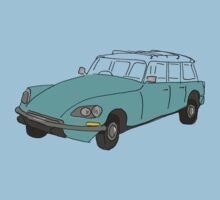 citroen safari station wagon One Piece - Short Sleeve