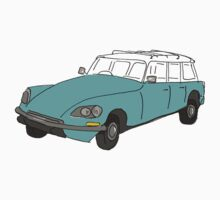 citroen safari station wagon Baby Tee