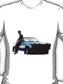 Paul walker and car T-Shirt