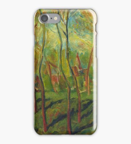 Claude Monet Trees in Winter (author's copy) iPhone Case/Skin