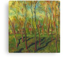Claude Monet Trees in Winter (author's copy) Canvas Print
