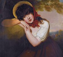 Sir Martin Archer She( 1769- 1850) Maria Tollemache, later Marchioness of Ailesbury (d.1893) by Adam Asar