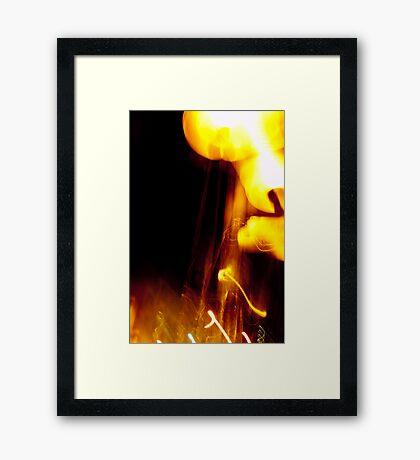 Crazy City 6 Framed Print