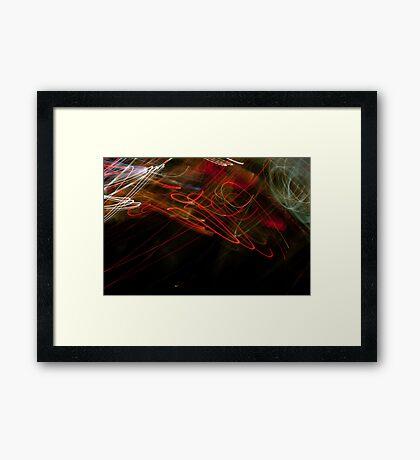 Crazy City 15 Framed Print