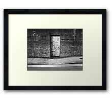 The Doorway To Enlightenment Framed Print