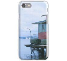 Boathouse View of Sydney Harbour Bridge iPhone Case/Skin