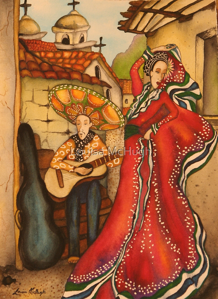 Mexican Ballerina by Louisa McQ