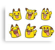 Derpachu collection! Canvas Print