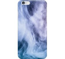 Blue and purple abstract heavenly clouds iPhone Case/Skin