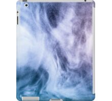 Blue and purple abstract heavenly clouds iPad Case/Skin