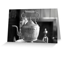 Vintage Kettle Greeting Card