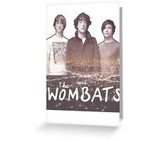 The Wombats Glitterbug Greeting Card