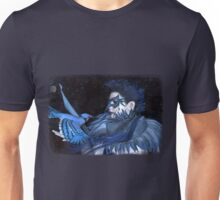 Iaconagraphy: For the Birds: Bluejay Unisex T-Shirt