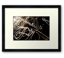 Crazy City 19 Framed Print