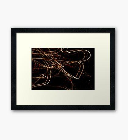 Crazy City 25 Framed Print