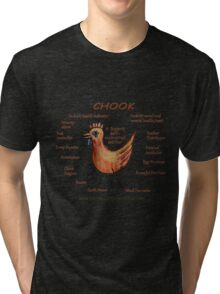 The Powerful Permaculture Chook Tri-blend T-Shirt