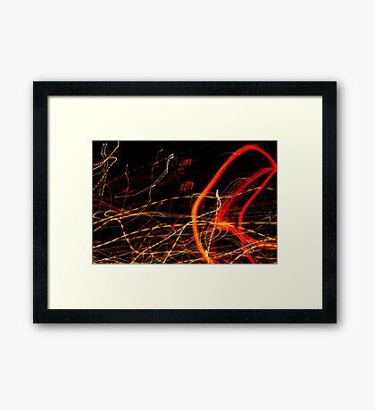 Crazy City 29 Framed Print