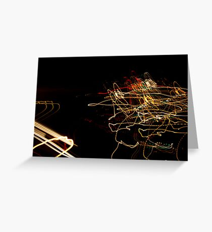 Crazy City 33 Greeting Card