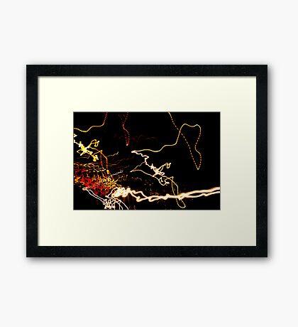 Crazy City 34 Framed Print