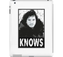 Knows iPad Case/Skin