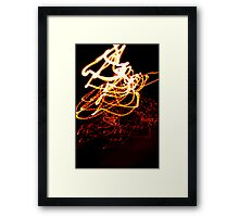 Crazy City 40 Framed Print
