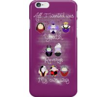 The Wicked Ladies of Disney iPhone Case/Skin