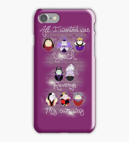 The Wicked Ladies iPhone Case/Skin