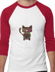 Knitty kat Men's Baseball ¾ T-Shirt