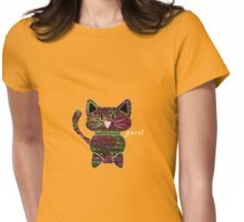 Knitty kat Womens Fitted T-Shirt