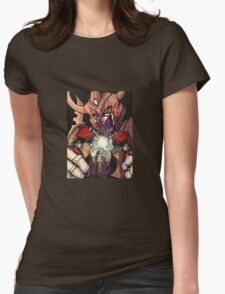unicron devours optimus prime Womens Fitted T-Shirt