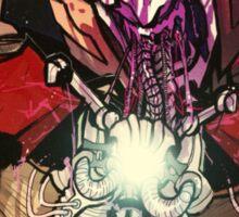unicron devours optimus prime Sticker