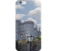 old antique street lamp and castle view iPhone Case/Skin