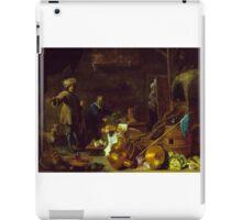 Teniers the Younger, David; Heem, Jan Davidsz de - An Artist in His Studio iPad Case/Skin