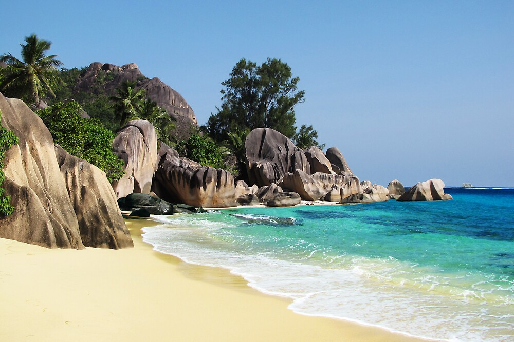 ANSE SOURCE D'ARGENT - SEYCHELLES by Michael Sheridan