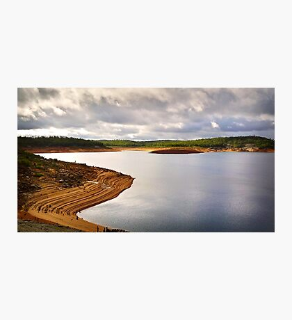 Dramatic sky over Canning Dam Photographic Print