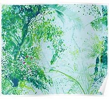 Jungle Painting Poster