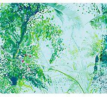 Jungle Painting Photographic Print