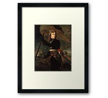 The Distribution Of The Eagle Standards Jacques Louis David Framed Print