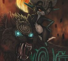 Midna Hyrule Warriors by ChickenChaserLH