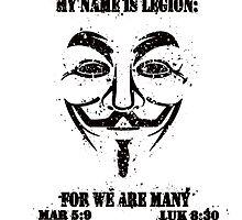 MY NAME IS LEGION by Calgacus