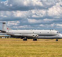 Hawker Siddeley Nimrod R.1 XW665 SIGINT aircraft by Colin Smedley