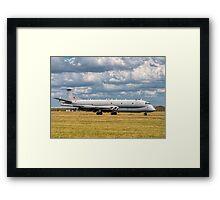 Hawker Siddeley Nimrod R.1 XW665 SIGINT aircraft Framed Print